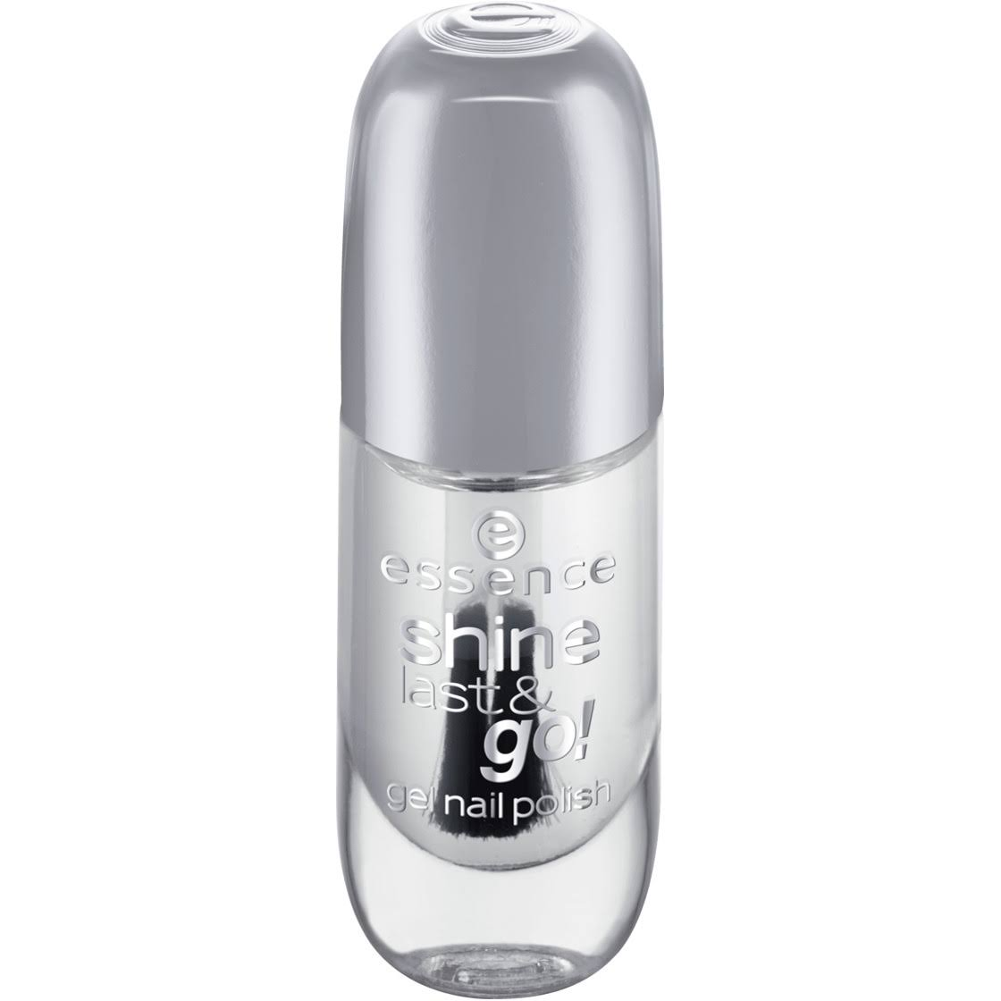 Essence Shine Last and Go! Gel Nail Polish - Absolute Pure, 8ml