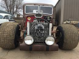 1947 Federal Rat Rod Pickup For Sale