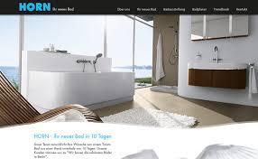 corporate responsive homepage und webapp für hornbad aus