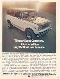 Scout Comanche Advertisement | IH Scout Pr0n | Pinterest ...