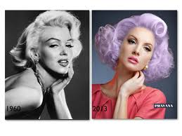 Luscious Lavender Marilyn Vintage Hairstyle Style Now