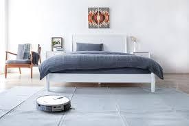 saugroboter für teppich parkett co wie gut klappt s