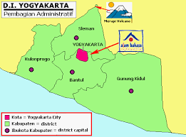 Administrative Map Of Yogyakarta Indonesian Language School