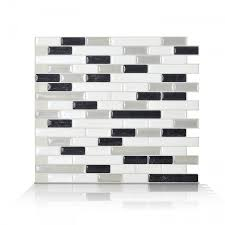 Smart Tiles Mosaik Multi by Peel And Stick Tile Backsplash Muretto Blues Smart Tiles