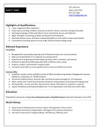 Experience Format Resume For Fresh Graduates With No Templates College Students