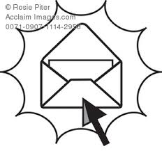0071 0907 1114 2956 black and white open email icon