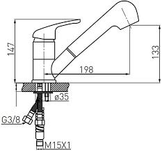 beige ausziehbare niederdruckarmatur küchenarmatur spültischarmatur mit geschirrbrause in granitoptik für boiler untertischgerät