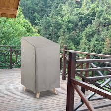 Outdoor Chair Cover 300d Oxford Polyester For Lounge Chair Wicker Chair  Waterproof, Fireproof & UV Block, 23.2