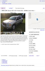 100 Craigslist Indianapolis Cars And Trucks For Sale By Owner At 5400 Could This 2004 GMC Envoy XUV Prove Transformative