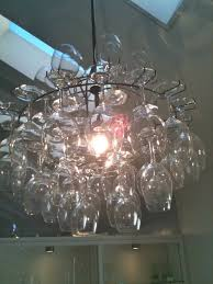 Lighting & Lamp: Best Simple Inspiration Wine Glasses Chandelier ... Lighting Lamp Wine Glasses Chandelier Pottery Barn Chandeliers Glass Ebay The Lush Nest Eat Host Dwell Recycled Beaded Blue Shades Maria Theresa Murano Globe Kitchen Best Simple Inspiration Litecraft Your Home Youtube Design Emery
