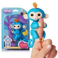 Fingerlings Interactive Baby Monkeys Smart Toy Colorful Finger Lings Kid Gift