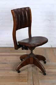 Vintage Leather Office Chair Chair Contemporary Vintage Office Chair ...