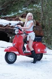 EUROPEAN TOURING ROUTE Europeantouringroute Lambretta ScooterVespa ScootersVespa GirlScooter GirlMotorcycle