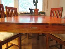 esstisch inkl 4 stühle tibet echtholz