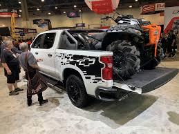 100 Chevy Silverado Truck Parts 2019 1500 Trail Boss SEMA GM Authority