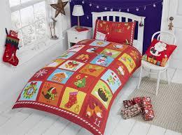 Ebay Christmas Trees Australia by Christmas Kids Quilt Duvet Cover Bedding Bed Sets 5 Sizes Festive