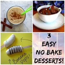 easy no bake dessert recipes 3 easy no bake dessert recipes the squishy
