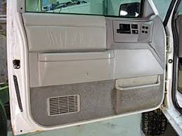 How To Remove Door Panels A 1993 GMC Jimmy Chevy Blazer or S10