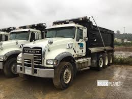 2012 (unverified) Mack CV713 Tri/A Dump Truck In Ringgold, Georgia ...