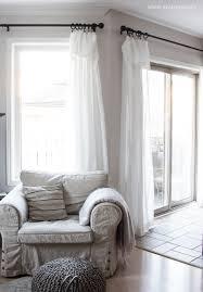 inexpensive curtains ikea curtain hack