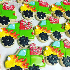 100 Monster Truck Cookies Monster Love Truck Hayley Cakes And Hayley Cakes And