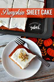 Best Pumpkin Cake Ever by One Bowl Pumpkin Sheet Cake Recipe