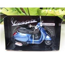 New Ray 1 12 Diecast Motorcycle 2013 Vespa Primavera Scooter Blue