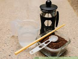 Image Titled Make Espresso Beverages With A French Press Step 1