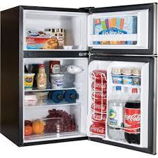 Amazon Haier 3 2 cu ft Refrigerator Stainless Steel 2 Door