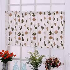 de kleiner vorhang cafe gardinen gedruckt küche