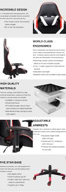 Racing Style Gaming Chair With Headrest Ergonomic System And Office Home  Use(red And Black) - Buy Racing Style,Swivel,Adjustable Product On ... Artiss Office Computer Desk Study Gaming Table Racing Racer Chair Desks Laptop Best Gaming Chairs Pc Gamer Design Ideas To Elevate Your Workspace Comfort 20 Mustread Before Buying Gamingscan Us 700 New High Quality Office Computer Chair Fabric Lifting Children Fashion Executive Comfortable Free Shippgin Secretlab Titan Softweave Review Titanic Back The Gear For Streamers Esports Or Gamers Cheap With Find Yo Kiwi Boss Seat Study Table Executive Swivel With Speakers In Windows Central Black And White Home