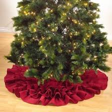 Hobby Lobby Burlap Christmas Tree Skirt by Tree Skirt Christmas Seasonal Decor Shop The Best Deals For Dec