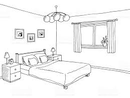Bedroom Black And White Clipart • White Bedroom Ideas