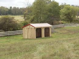 Livestock Loafing Shed Plans by Tack Room Barns