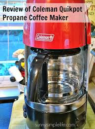 Review Of Coleman Propane Coffee Maker