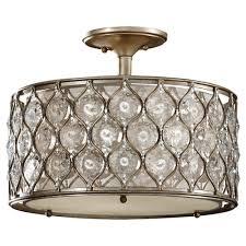 Flush Ceiling Fans With Lights Uk by Dainolite Semi Flushmount Lights Lighting The Home Depot