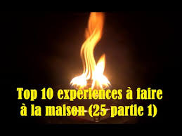 51 top 10 expériences à faire à la maison 25 partie 1