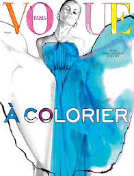 After The Popularity Of First Edition Vogue Paris Has Created A Second Coloring Book With Help Marc Antoine Coulon So Crayons At Ready To