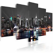leinwand bilder new york skyline stadt wandbilder
