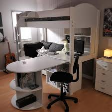 High Sleeper Loft Beds with Sofabed Futon Sofa Desk & Storage