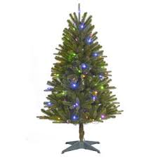 Color Switch Plus 45 Pre Lit Regal Fir Christmas Tree With