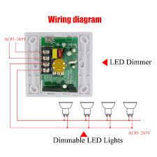 200w white led dimmer ir knob switch remote many units