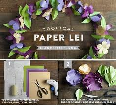 DIY Paper Flower Crafts And Projects