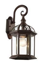 trans globe lighting 4181 bk outdoor wentworth 15 75 wall lantern
