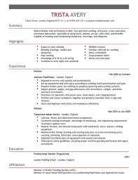 Use Our Welder Resume Pattern To Create Your Individual Nice For Jobs Additionally Study