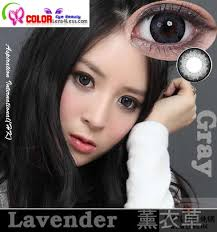 Prescription Contact Lenses Halloween Australia by Cib Lavender Xtra Grey Colored Contacts Pair Wfl A55 8 05