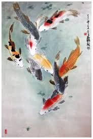 Eight Japanese Koi By Tboonip1