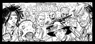 12 Free Walking Dead Coloring Pages Colorable Character Chibis