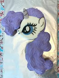 How to make a My Little Pony cake with pull apart cupcake mane