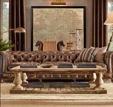 Restoration Hardware Lancaster Sofa Leather by Living Capitone Chesterfield Decoracion De Interiores